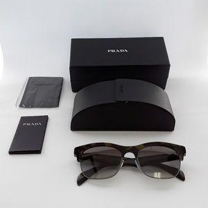 NIB Prada SPR11P LAB-0A7 54-19 Sunglasses